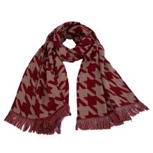 Womens Soft Cashmere Feel Swallow Gird Printing Stole Shawl Scarf (SP273)