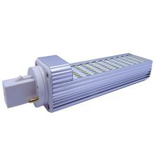 G24 4 pinos AC 85-265V 72PCS 3014 SMD LEDs lâmpada fluorescente 120 graus -24W igual