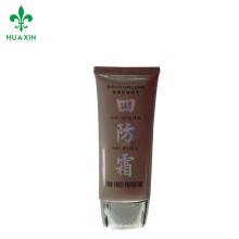 tubo cosmético cosmético plástico cosmético del tubo suave de los fabricantes del tubo del ldpe que empaqueta cosmético
