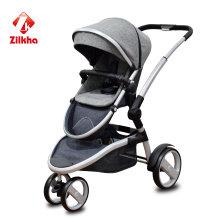 Детская коляска с рамкой и регулярным сиденьем