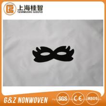 masque de lissage de tissu noir masque de l'oeil personnalisé