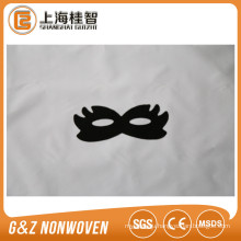 black fabric smoothing eye mask custom eye mask