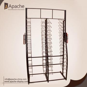 Metal Floor Board Tile Carpet Display Stand