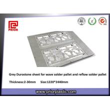Оптический класс серый Durostone листы для джиг олова печи