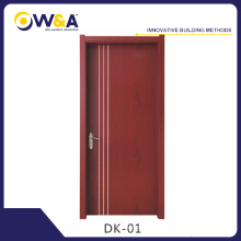 (DK-02)Termite Proof Wood Plastic Composite WPC Interior Cheap Doors