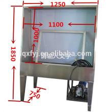 tanque de lavado de pantalla de acero inoxidable para lavar la emulsión