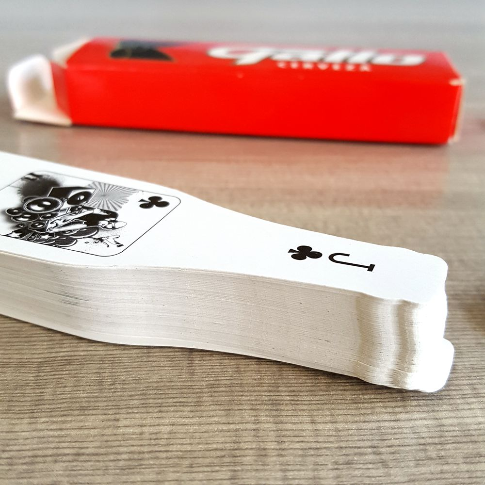 Irregular Shaped Playing Card