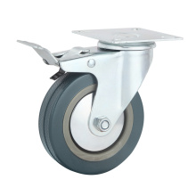 Industrial Grey Rubber/PVC Castors