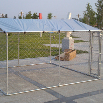 Rantaian Link Dog Kennel Panels