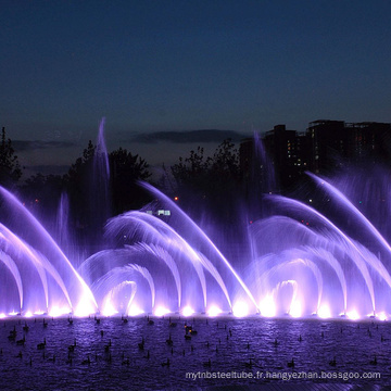fontaine pour sols secs en acier inoxydable