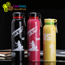 Comercio al por mayor de acero inoxidable YongKang extremo movimiento al aire libre bolsa de viaje de doble capa matraz botella de agua de aislamiento al vacío