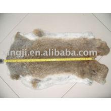 Venta al por mayor de piel de conejo de liebre bronceada china
