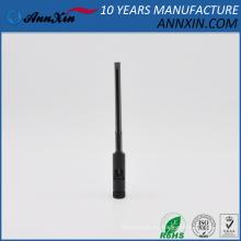 Antena dipolo de doble banda negra de 2.4GHz y 5GHz con RP SMA macho 160mm de largo