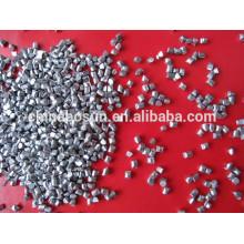 zinc shot ball 1.5mm for blasting and polishing in high quality