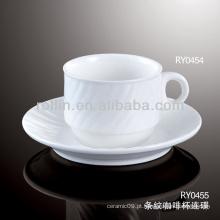 Caneca cerâmica do hotel, caneca de café, copo de café por atacado