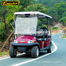 6 местный электрический гольф-кары 4 колеса электрический цена гольф-мини-автобус