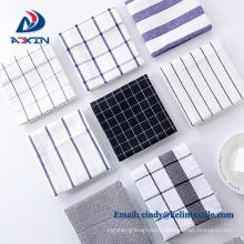 Wholesale 100% cotton kichen towel set with fringe