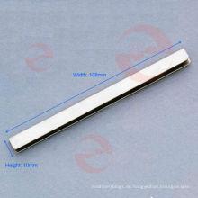 Silberne Handtaschen-Kantenbindung (S4-55S)