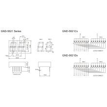 0.56inch 2 Digit 7 Segment Display (GNS-5621Cx-Dx)