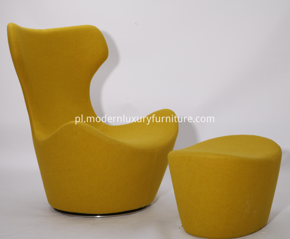 Grande papilio chair and ottoman replica