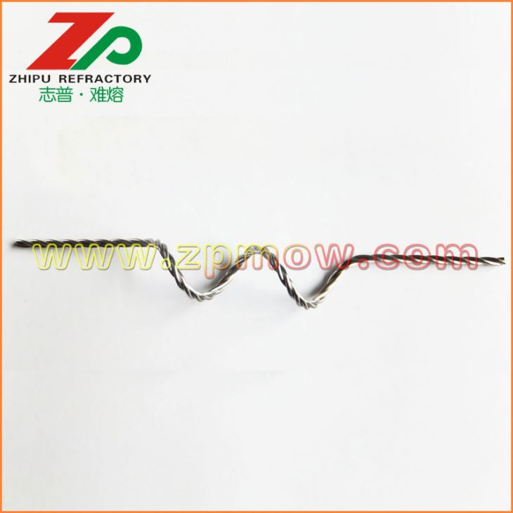 99.95% Tungsten Filament Coiled Wire Heater