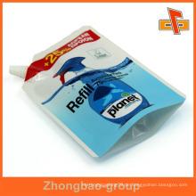 900ml wiederverschließbare Auflage laminierte Verpackung Wäsche Seife