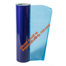 PE Protective Film with Acrylic Adhesive, center folded screen protective film for cellphone and computer, adhesive protective