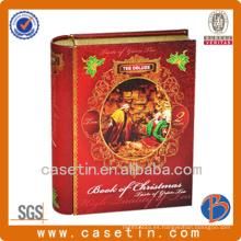 Caja De Almacenaje De Libros, Caja De Almacenamiento Vacía, Cajas De Estaño De Chocolate Vacías