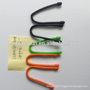 Available Colorful Silicone Gear Tie