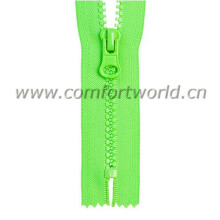 #5 Resin Plastic Zipper