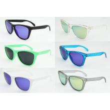 Fashion Sunglasses Frogskins, Tr90 Eyeglass, Transparent Blue Frames Sunglasses, Occhiali Da Sole