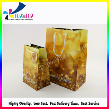 Hot Stamping Luxury Paper Shopping Bag