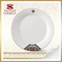 Кухня тарелки, индийские ссаживая тарелка