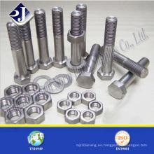 Perno hexagonal del producto principal de acero inoxidable