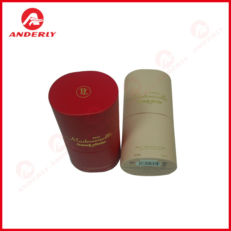 Hot Stamping Paper Tube Άκαμπτη συσκευασία αρώματος