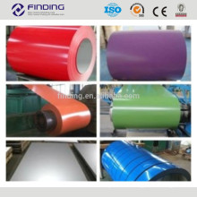 high quality ce standard ppgi prepainted color coated steel coil