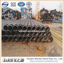 Api 5l X52 tubos de acero sin soldadura para la empresa de fabricación de petróleo y gas en tianjin