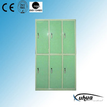 Steel Painted Hospital 6-Door Dressing Cupboard (U-9)