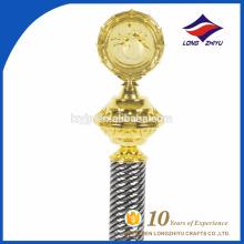 Técnica de fundição Campeão de esportes Prêmio de troféu de ouro