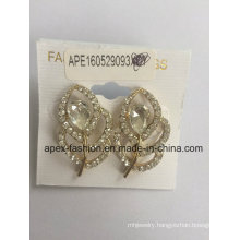 Leaf Metal Earrings Fashion Jewellery with SGS Approved