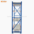 powder coated shelf rack for warehouse storage
