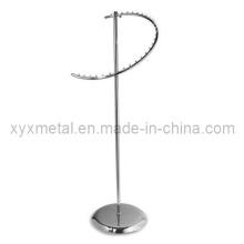 Commerce de détail Tissu d'affichage Vêtements en métal Vêtements Porte-bagages en spirale (YJ-015)