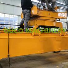 Полностью электрический контейнерный подъемник KAUP с легкостью в эксплуатации