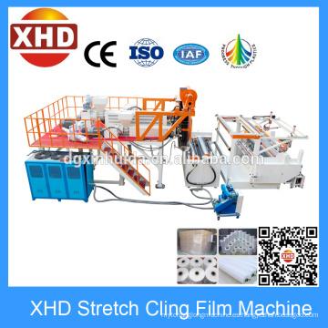 Máquina de la película del estiramiento de cinco capas, máquina de producción de la película del estiramiento