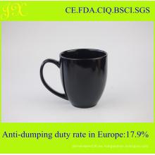 Regalo de cerámica de las tazas promocionales, tazas de café de la gres