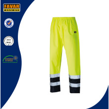 Salut Vis fluorescente jaune/Orange pantalon imperméable Workwear