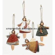 Cadeaux d'ange pendentif de Noël, Décoration d'ornement suspendue de Noël