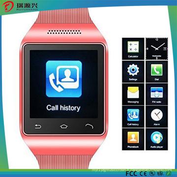 Téléphone intelligent de montre d'écran tactile de 1.54 pouces avec SIM
