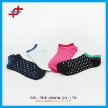 2015 été couleur unisexe design design féminin Chaussettes minces de cheville