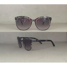 Gafas de sol de moda gafas de gato para damas con decoración P25050
